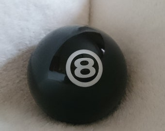 Avon Vintage Cologne Container Eight Ball (Empty)