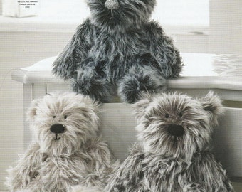 Luxe Fur Teddy Knitting Pattern