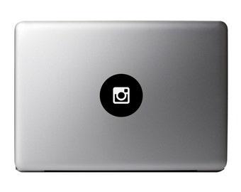 Macbook Decal - Instagram Vinyl Sticker