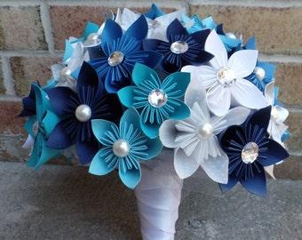 Custom Origami Kusudama Flower Bride Bridesmaid Bouquet