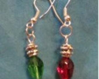 Christmas Bulb Earrings