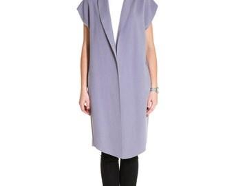 """Wool waistcoat """"Purple"""""""