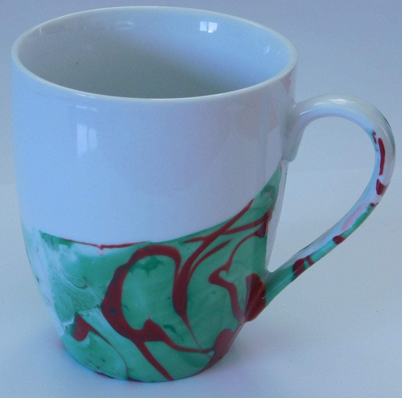 Quote coffee mug watercolor coffee mug by artemolittlethings for Coffee watercolor