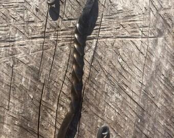 "3/8"" Hand Forged Blacksmith S-hook"