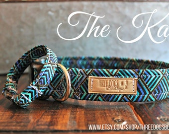 """Dog Collar with optional bff bracelet """"The Kai"""" FREE SHIPPING 