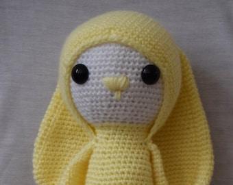 Crochet bunny doll