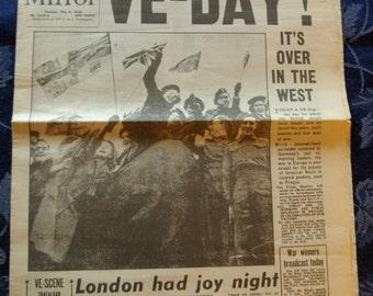 Daily Mirror, May 8, 1945
