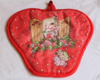 Vintage Strawberry Shortcake Pot Holder