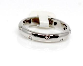Vintage Platinum Tiffanys Diamond Etoile Ring
