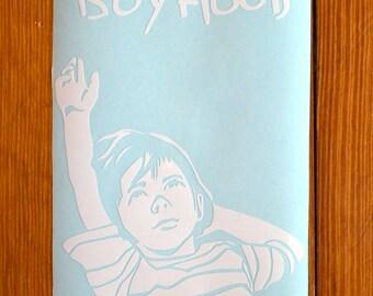 Boyhood Movie Poster Vinyl Sticker Decal