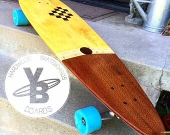 """10"""" x 40"""" Hardwood Longboard"""