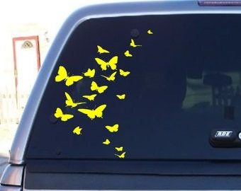 Butterfly Decal for Autos, Butterfly Sticker 10 High x 8 inches Wide