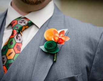 Formal Event Combo - 2 Paper Boutonnieres