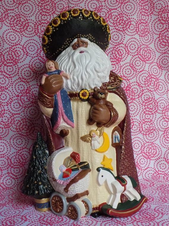 African american santa black claus