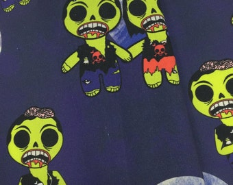 Zombies 1/2 yd