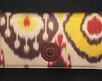 bag/ purse/ ikat bag/ ikat purse/ ethnic bag/ethnic purse/ ikat chain purse/clutch shoulder bag/top selling bags/ silk boho handbag