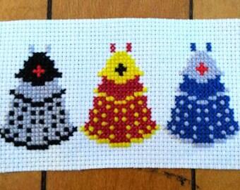 Assorted Dr. Who Daleks