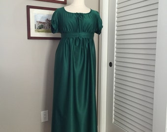 Jane Austen Regency Gown by Iblamejanetoo - size 14