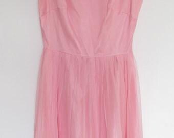 Vintage pink party dress