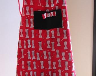 Very cute adjustable full apron