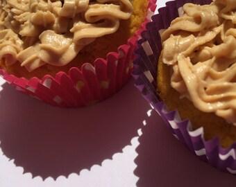 Gluten Free Gourmet Pumpkin Pupcakes