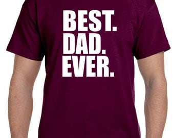 Father's Day Gifts for Dad Best Dad Ever Tshirt New Daddy Shirt Children to Father Gift Father's Day gifts Husband Gift, Awesome Dad