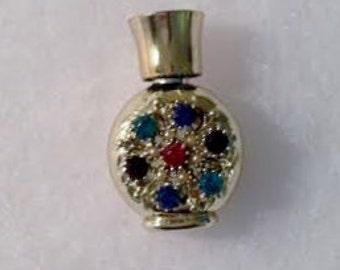 Jeweled Mini Perfume Bottle