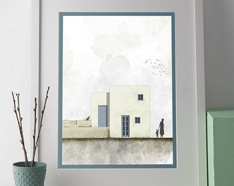 Architectural Wall Art architecture poster | etsy