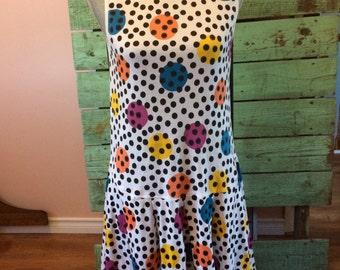 80's Polka Dot Party Dress