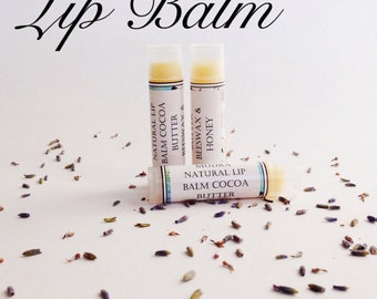 Cocoa & Honey Lip Balm / / all natural cosmetic
