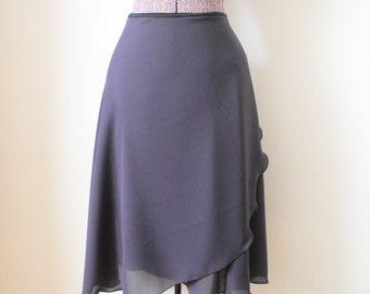 Rehearsal wrap skirt - Long ballet skirt - Balletwear - Dancewear