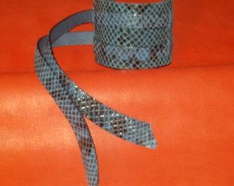 Genuine leather wristband bracelet