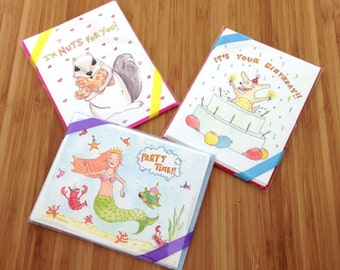Critter Cards - Pick Any 3 for 10!