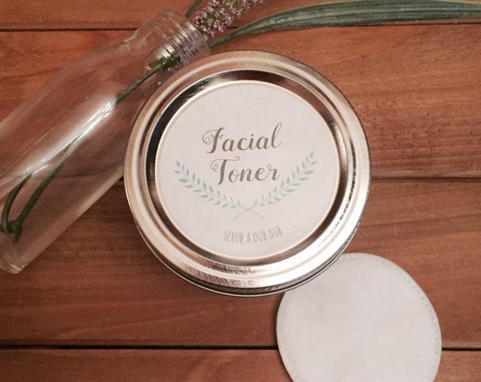 All Natural Facial Toner: Lake Life Candle Co. & scrub.a.dub.dub. Made in WI