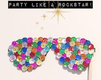 Rockstar Photobooth Prop Glasses!