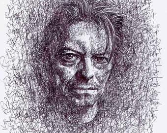 Custom Pen Portrait, Custom Drawing, Ink Illustration, Pen Drawing, Pen Sketch, Personalized Portrait