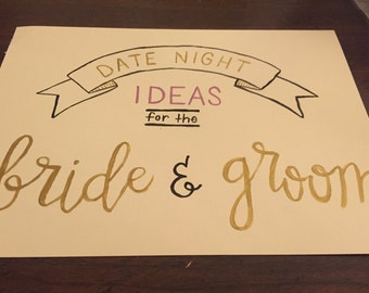 Customized Party Sign