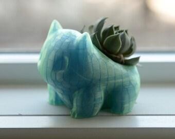 Bulbasaur Planter - Aurora Blue - Pokemon