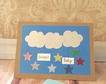 Sweet Baby Star Mobile Card
