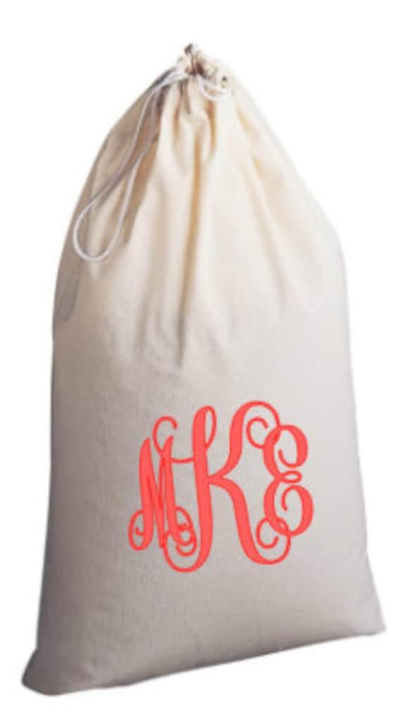 Items Similar To Custom Canvas Extra Large Laundry Bag
