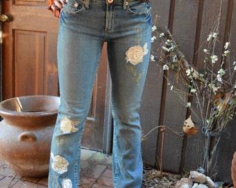 Vintage Boho Jeans