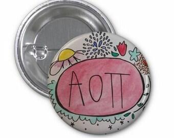 AOII Button