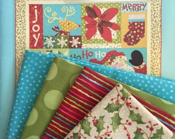Art To Heart Christmas Favorites - Quilt Kit and Pattern Book