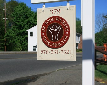 Custom Sign, Store Front Sign, Business Sign, Hanging Sign, Wooden Sign