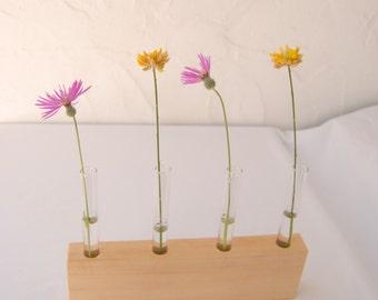 Wooden Flower Display - Samba - Beautiful Minimalist Display