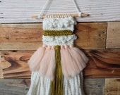 Ready-to-ship MINI Woven Wall Hanging | Handmade | Weaving | Wall Decor | Modern Tapestry | Fiber Art