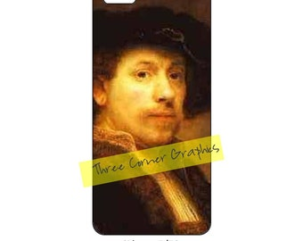 Rembrandt iPhone 5 printable fine art case design; DIY print at home iPhone accessories for 5, 5S, or SE