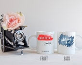 Netflix & Edit   Editing Day   This Might Be Wine   Photographer Mug   Coffee Cup