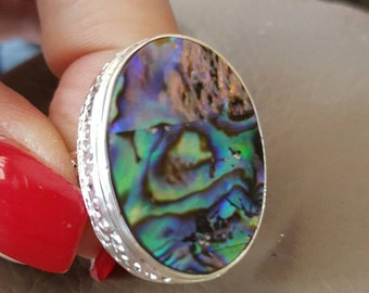 Abelone Shell ring- size 7!  - REDUCED