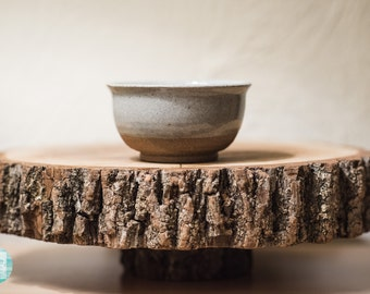 Wheel-thrown cup/sauce bowl